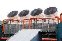 Grote airconditioner Royalty-vrije Stock Afbeeldingen