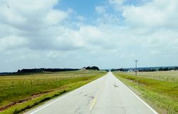 Grote Amerikaanse wegreis Royalty-vrije Stock Afbeelding