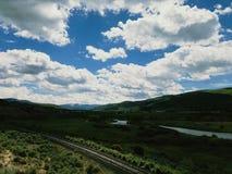 Grote Amerikaanse wegreis Royalty-vrije Stock Afbeeldingen
