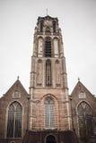 Grote av Sint-Laurenskerk, en kyrka i Rotterdam, Nederländerna Fotografering för Bildbyråer