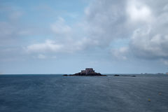 Grote Bé, Saint Malo, Frankrijk Stock Afbeeldingen