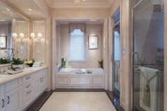 Grote Badkamers royalty-vrije stock afbeeldingen