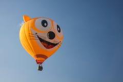 Grote ballon op de lucht Stock Foto's
