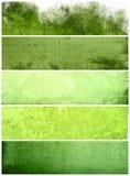 Grote bannersachtergronden Stock Fotografie