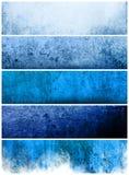 Grote bannersachtergronden Stock Afbeeldingen