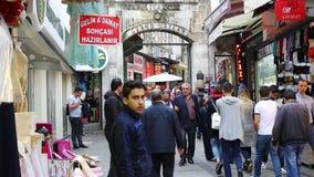 Grote Bazaar stock videobeelden