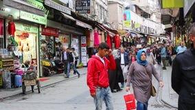 Grote Bazaar stock video
