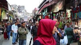 Grote Bazaar stock footage