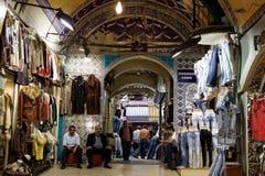 Grote Bazaar Istanboel Royalty-vrije Stock Afbeeldingen