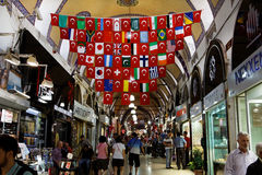 Grote Bazaar Istanboel Royalty-vrije Stock Fotografie