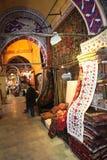 Grote Bazaar Istanboel Royalty-vrije Stock Foto