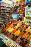 Grote bazaar, Istanboel stock foto's