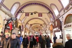 Grote Bazaar in Istanboel Royalty-vrije Stock Afbeelding