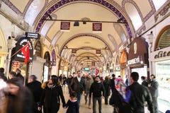 Grote Bazaar in Istanboel Stock Fotografie