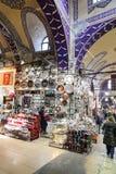 Grote Bazaar in Istanboel Stock Foto
