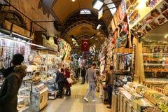 Grote Bazaar in Istanboel Stock Afbeelding