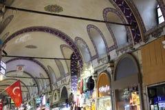 Grote bazaarwinkels in Istanboel Royalty-vrije Stock Afbeelding