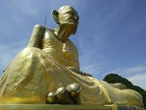Grote beeldhouwwerkpriester Royalty-vrije Stock Afbeelding