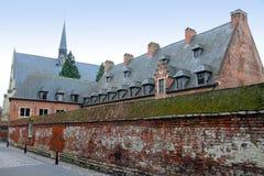 Grote Beguinague Leuven België Royalty-vrije Stock Afbeeldingen