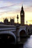Grote Ben- Londen, het Verenigd Koninkrijk Stock Foto's