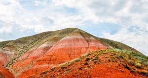 Grote berg Bogdo astrakan Rusland Stock Foto