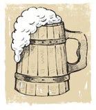 Grote bierkruik Royalty-vrije Stock Foto's