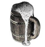 Grote bierkruik Royalty-vrije Stock Afbeelding