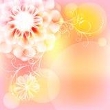 Grote bloem stock illustratie