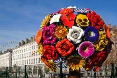 Grote bloem in Lyon Royalty-vrije Stock Afbeelding
