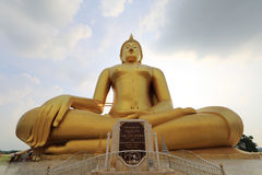 Grote Boedha, Angthong Stock Afbeelding