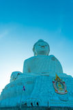 Grote Boedha en blauwe hemel Royalty-vrije Stock Afbeelding