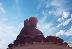 Grote Boedha, Lan Tau Island Hon Kong stock afbeelding