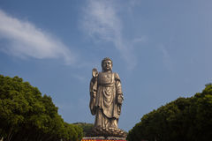 Grote Boedha in Lingshan Royalty-vrije Stock Foto