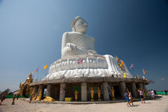Grote Boedha op het eiland Phuket Stock Afbeeldingen