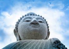 Grote Boedha op Phuket-eiland stock fotografie