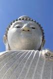 Grote Boedha phuket en blauwe hemel Royalty-vrije Stock Foto