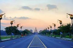 Grote Boedha in Singburi Thailand Royalty-vrije Stock Foto's