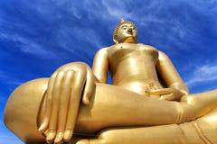 Grote Boedha, Thailand stock foto