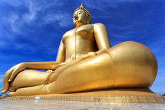 Grote Boedha, Thailand stock foto's