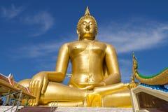 Grote Boedha in Thailand Royalty-vrije Stock Foto's