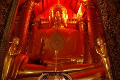 Grote Boedha in Thailand Royalty-vrije Stock Afbeelding
