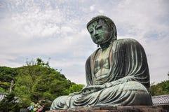 Grote Boedha van Kamakura (Kamakura Daibutsu) stock afbeelding