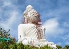 Grote Boedha van Phuket Stock Foto