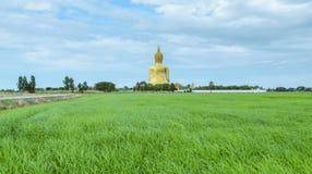 Grote Boedha van Thailand Stock Afbeeldingen