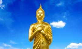 Grote Boedha wat asokaram, Thailand Stock Foto's