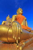 Grote Boedha in Wat Muang, Thailand Stock Fotografie