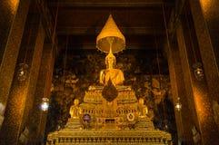 Grote Boedha in Wat Pho Royalty-vrije Stock Fotografie