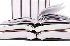 Grote boeken Stock Afbeelding