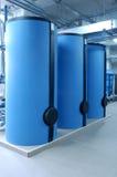 Grote boilers royalty-vrije stock foto's