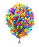 Grote bos van partijballons Royalty-vrije Stock Fotografie